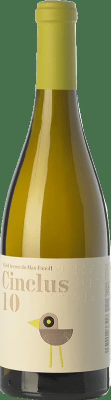 11,95 € Envío gratis | Vino blanco DG Cinclus Crianza D.O. Penedès Cataluña España Albariño, Incroccio Manzoni Botella 75 cl