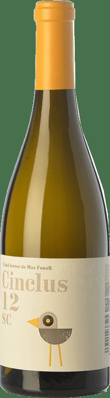 13,95 € Envío gratis | Vino blanco DG Cinclus SC Crianza D.O. Penedès Cataluña España Loureiro, Albariño, Incroccio Manzoni Botella 75 cl