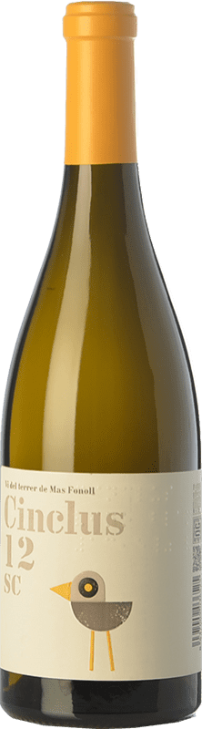 12,95 € | White wine DG Cinclus SC Crianza D.O. Penedès Catalonia Spain Loureiro, Albariño, Incroccio Manzoni Bottle 75 cl