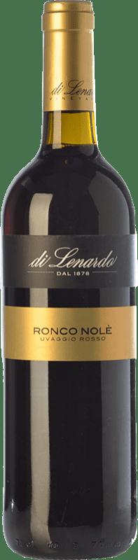 8,95 € Free Shipping | Red wine Lenardo Ronco Nolé Italy Merlot, Cabernet Sauvignon, Riflesso dal Peduncolo Rosso Bottle 75 cl