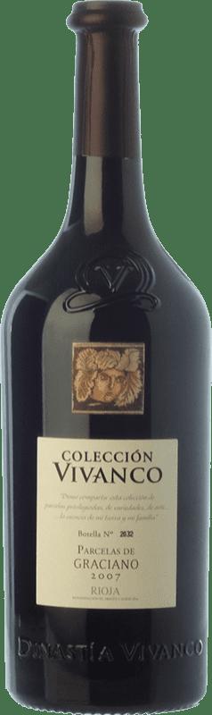 57,95 € Envío gratis | Vino tinto Vivanco Colección Parcelas Crianza 2008 D.O.Ca. Rioja La Rioja España Graciano Botella 75 cl