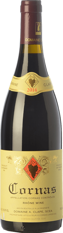 88,95 € Free Shipping | Red wine Auguste Clape Crianza A.O.C. Cornas Rhône France Syrah Bottle 75 cl