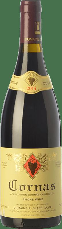 88,95 € | Red wine Auguste Clape Crianza A.O.C. Cornas Rhône France Syrah Bottle 75 cl