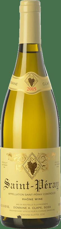 62,95 € | White wine Auguste Clape Crianza A.O.C. Saint-Péray Rhône France Marsanne Bottle 75 cl