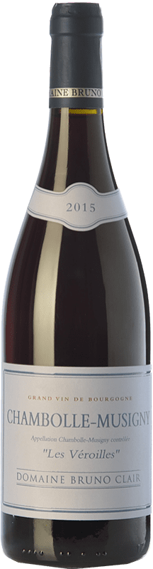 86,95 € Free Shipping | Red wine Bruno Clair Chambolle-Musigny Les Veroilles Crianza A.O.C. Bourgogne Burgundy France Pinot Black Bottle 75 cl