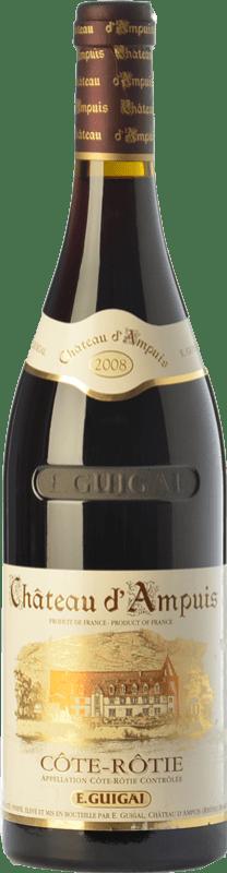 169,95 € Free Shipping | Red wine Domaine E. Guigal Château d'Ampuis Gran Reserva A.O.C. Côte-Rôtie Rhône France Syrah, Viognier Bottle 75 cl