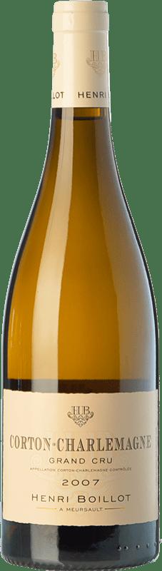 183,95 € Envío gratis | Vino blanco Domaine Henri Boillot Grand Cru Crianza 2010 A.O.C. Corton-Charlemagne Borgoña Francia Chardonnay Botella 75 cl