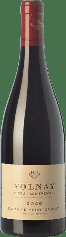 99,95 € 免费送货   红酒 Domaine Henri Boillot Premier Cru Fremiets Crianza 2009 A.O.C. Volnay 勃艮第 法国 Pinot Black 瓶子 75 cl