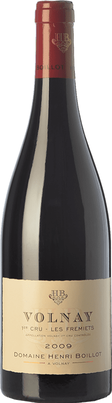 99,95 € Envío gratis | Vino tinto Domaine Henri Boillot Premier Cru Fremiets Crianza 2009 A.O.C. Volnay Borgoña Francia Pinot Negro Botella 75 cl