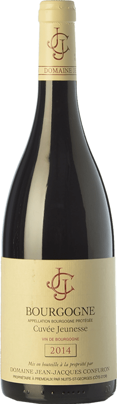 32,95 € Free Shipping | Red wine Confuron Cuvée Jeunesse Crianza A.O.C. Bourgogne Burgundy France Pinot Black Bottle 75 cl