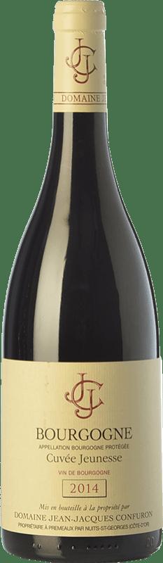 29,95 € | Red wine Confuron Cuvée Jeunesse Crianza A.O.C. Bourgogne Burgundy France Pinot Black Bottle 75 cl