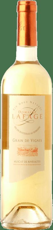 19,95 € 免费送货   甜酒 Domaine Lafage Grain de Vignes A.O.C. Muscat de Rivesaltes 朗格多克 - 鲁西荣 法国 Muscat of Alexandria, Muscatel Small Grain 瓶子 75 cl