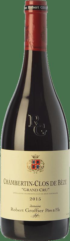 386,95 € Free Shipping | Red wine Robert Groffier Clos de Bèze Grand Cru Crianza A.O.C. Chambertin Burgundy France Pinot Black Bottle 75 cl