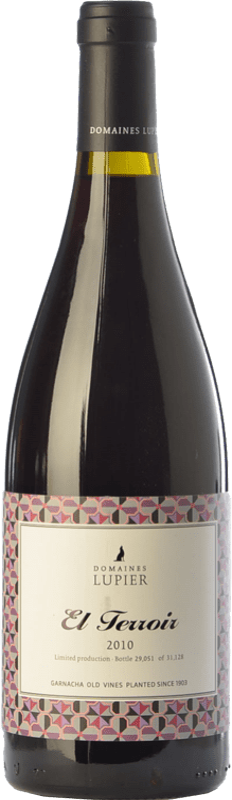 24,95 € Free Shipping | Red wine Lupier El Terroir Crianza D.O. Navarra Navarre Spain Grenache Bottle 75 cl