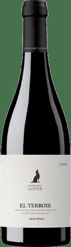 24,95 € Envío gratis | Vino tinto Lupier El Terroir Crianza D.O. Navarra Navarra España Garnacha Botella 75 cl