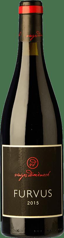 16,95 € Envoi gratuit | Vin rouge Domènech Furvus Crianza D.O. Montsant Catalogne Espagne Merlot, Grenache Poilu Bouteille 75 cl