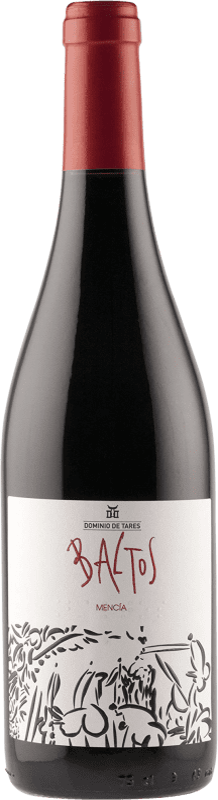 9,95 € Envío gratis | Vino tinto Dominio de Tares Baltos Joven D.O. Bierzo Castilla y León España Mencía Botella 75 cl