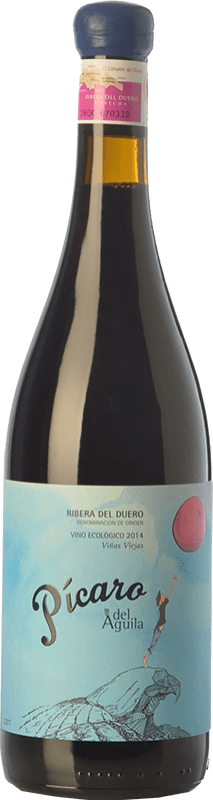 261,95 € Envoi gratuit | Vin rouge Dominio del Águila Pícaro del Águila Crianza D.O. Ribera del Duero Castille et Leon Espagne Tempranillo, Grenache, Bobal, Albillo Bouteille Spéciale 5 L