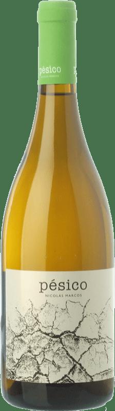 26,95 € Free Shipping | White wine Dominio del Urogallo Pésico Crianza Spain Albarín Bottle 75 cl