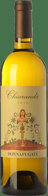 33,95 € Free Shipping | White wine Donnafugata Chiarandà D.O.C. Contessa Entellina Sicily Italy Chardonnay Bottle 75 cl
