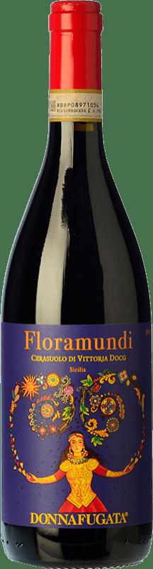 16,95 € Free Shipping | Red wine Donnafugata Floramundi D.O.C.G. Cerasuolo di Vittoria Sicily Italy Nero d'Avola, Frappato Bottle 75 cl