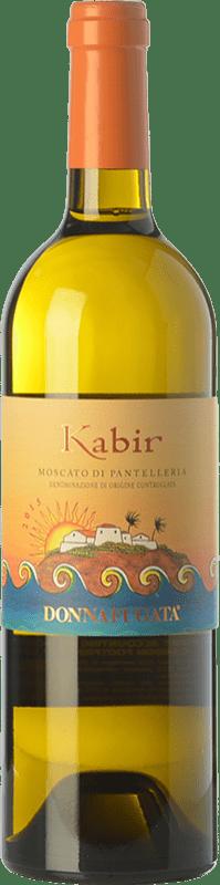 21,95 € Free Shipping | Sweet wine Donnafugata Kabir D.O.C. Passito di Pantelleria Sicily Italy Muscat of Alexandria Bottle 75 cl