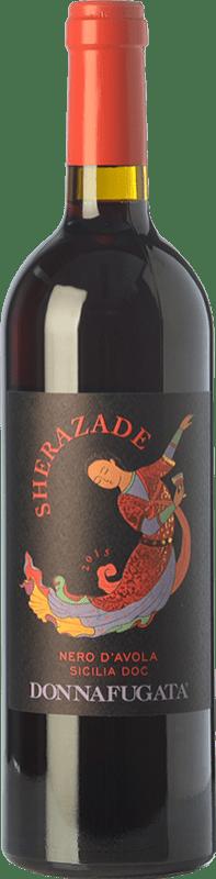 11,95 € Free Shipping | Red wine Donnafugata Sherazade I.G.T. Terre Siciliane Sicily Italy Nero d'Avola Bottle 75 cl