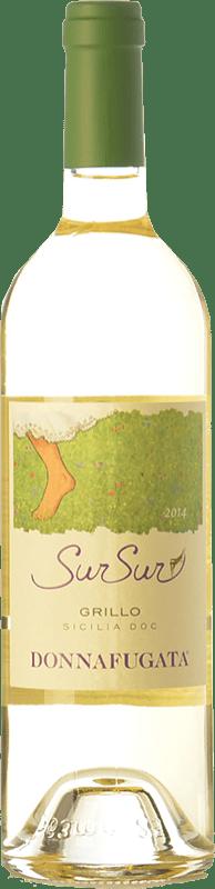 13,95 € Free Shipping | White wine Donnafugata SurSur I.G.T. Terre Siciliane Sicily Italy Grillo Bottle 75 cl