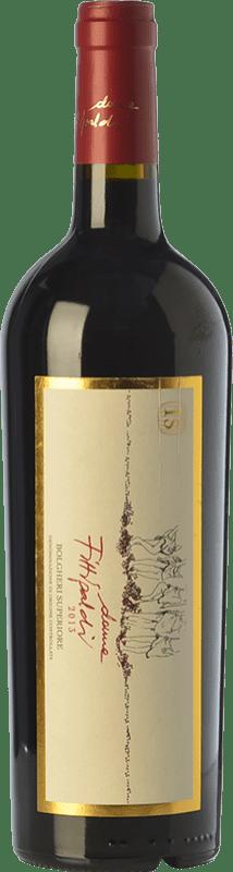 45,95 € Free Shipping | Red wine Donne Fittipaldi Superiore D.O.C. Bolgheri Tuscany Italy Merlot, Cabernet Sauvignon, Cabernet Franc, Petit Verdot Bottle 75 cl