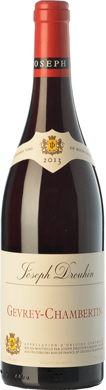 62,95 € 免费送货 | 红酒 Drouhin Crianza A.O.C. Gevrey-Chambertin 勃艮第 法国 Pinot Black 瓶子 75 cl