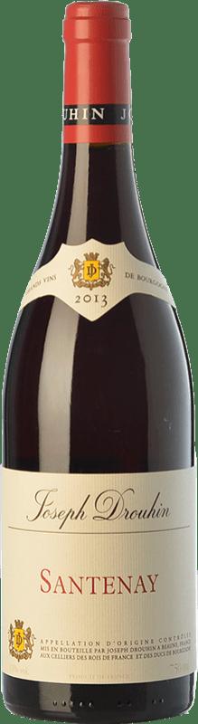 33,95 € 免费送货 | 红酒 Drouhin Crianza A.O.C. Santenay 勃艮第 法国 Pinot Black 瓶子 75 cl