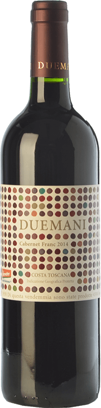 115,95 € | Red wine Duemani I.G.T. Costa Toscana Tuscany Italy Cabernet Franc Bottle 75 cl