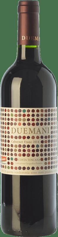 135,95 € Free Shipping | Red wine Duemani I.G.T. Costa Toscana Tuscany Italy Cabernet Franc Bottle 75 cl