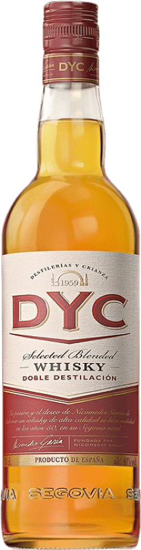 9,95 € Envoi gratuit | Whisky Blended DYC Selected Whisky Espagne Bouteille 70 cl