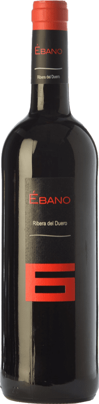 11,95 € Free Shipping | Red wine Ébano 6 Joven D.O. Ribera del Duero Castilla y León Spain Tempranillo Bottle 75 cl