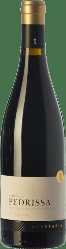 47,95 € Free Shipping | Red wine Edetària Finca La Pedrissa Crianza D.O. Terra Alta Catalonia Spain Carignan Bottle 75 cl