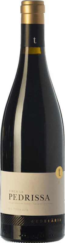 47,95 € Envoi gratuit | Vin rouge Edetària Finca La Pedrissa Crianza D.O. Terra Alta Catalogne Espagne Carignan Bouteille 75 cl