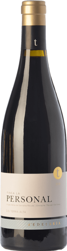 49,95 € Free Shipping | Red wine Edetària Finca La Personal Crianza D.O. Terra Alta Catalonia Spain Grenache Hairy Bottle 75 cl