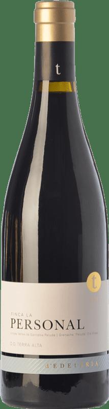 49,95 € Envío gratis | Vino tinto Edetària Finca La Personal Crianza D.O. Terra Alta Cataluña España Garnacha Peluda Botella 75 cl