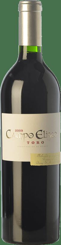 59,95 € Free Shipping | Red wine Albar Lurton Campo Elíseo Crianza 2009 D.O. Toro Castilla y León Spain Tinta de Toro Bottle 75 cl