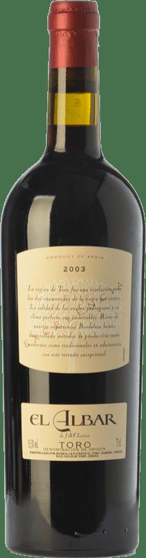 34,95 € Envío gratis | Vino tinto Albar Lurton Excelencia Crianza D.O. Toro Castilla y León España Tinta de Toro Botella 75 cl