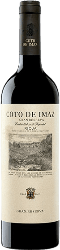23,95 € | Red wine Coto de Rioja Coto de Imaz Gran Reserva D.O.Ca. Rioja The Rioja Spain Tempranillo Bottle 75 cl