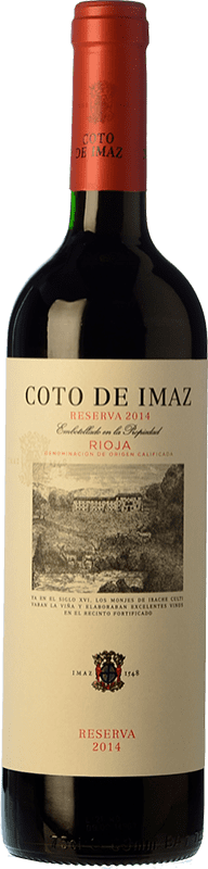 27,95 € | Red wine Coto de Rioja Coto de Imaz Reserva D.O.Ca. Rioja The Rioja Spain Tempranillo Magnum Bottle 1,5 L