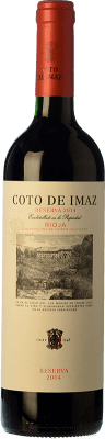 7,95 € | Red wine Coto de Rioja Coto de Imaz Reserva D.O.Ca. Rioja The Rioja Spain Tempranillo Half Bottle 50 cl