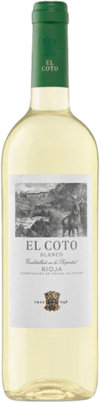4,95 € | White wine Coto de Rioja Joven D.O.Ca. Rioja The Rioja Spain Viura Bottle 75 cl
