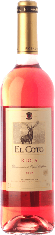 6,95 € | Rosé wine Coto de Rioja Joven D.O.Ca. Rioja The Rioja Spain Tempranillo, Grenache Bottle 75 cl