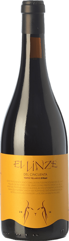 18,95 € | Red wine El Linze Joven I.G.P. Vino de la Tierra de Castilla Castilla la Mancha Spain Syrah, Tinto Velasco Bottle 75 cl