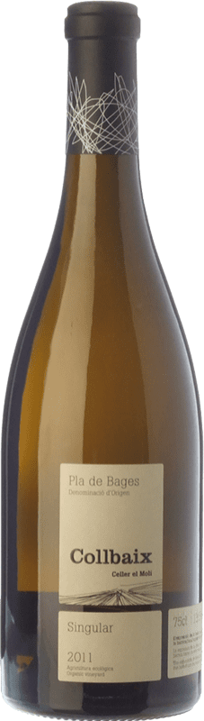 29,95 € | White wine El Molí Collbaix Singular Blanc D.O. Pla de Bages Catalonia Spain Macabeo, Picapoll Bottle 75 cl