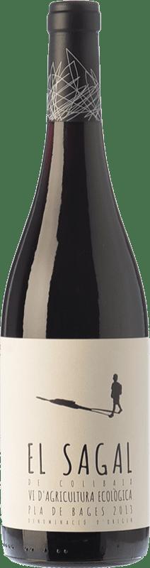 9,95 € Envío gratis | Vino tinto El Molí El Sagal de Collbaix Joven D.O. Pla de Bages Cataluña España Merlot, Cabernet Franc Botella 75 cl