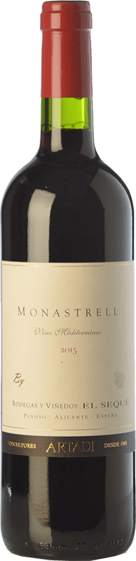 9,95 € | Red wine El Sequé Monastrell Joven D.O. Alicante Valencian Community Spain Syrah, Monastrell Bottle 75 cl